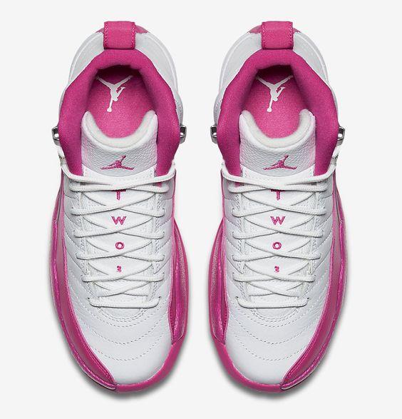 """parisienne de yves saint laurent - Girls Air Jordan 12 Retro """"Vivid Pink"""" - EU Kicks: Sneaker ..."""