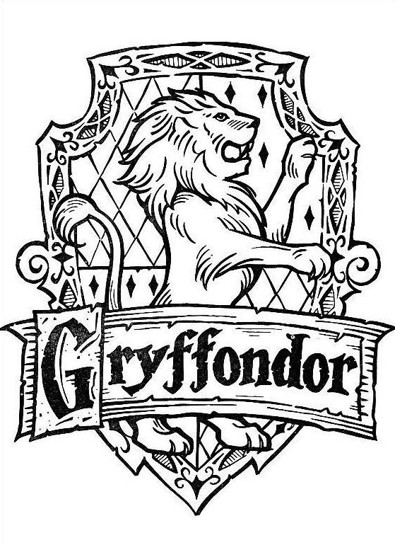 Coloring Pages Harry Potter Coloring Pages E15409260347