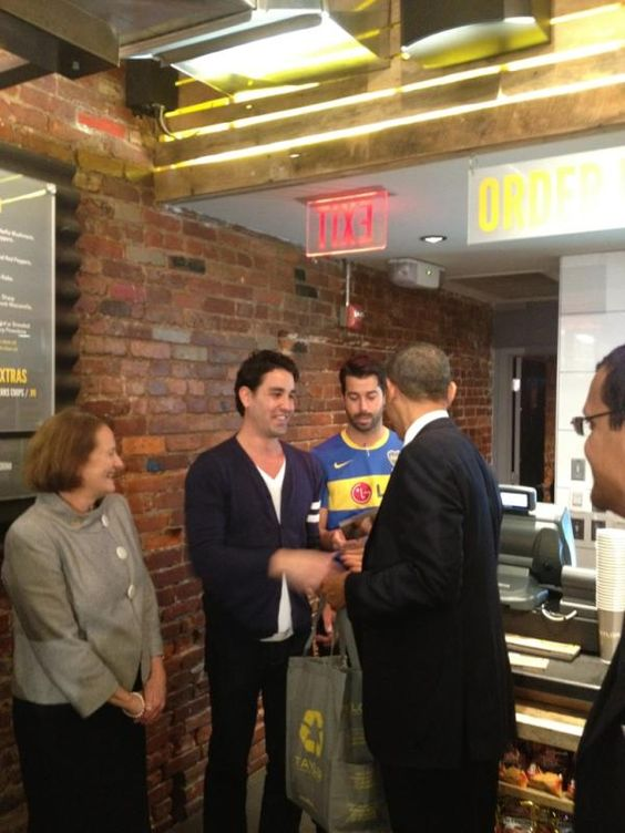 Obama Visits Taylor Gourmet to Participate in Small Business Roundtable: DCist