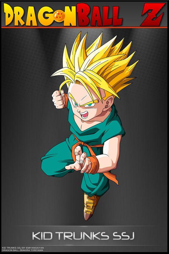 Dragon Ball Z - Kid Trunks SSJ by DBCProject on DeviantArt ...