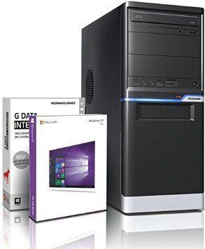 Entry Gaming / Multimedia COMPUTER mit 3 Jahren Garantie!   Quad-Core! AMD A8-6500 4 x 4100 MHz   16GB DDR3-1600   128GB SSD   1000GB HDD   AMD Radeon HD 8570D 4096 MB DVI/VGA   USB3   DVD±RW   Windows10 Professional 64-Bit   GDATA Internet Security   #4960