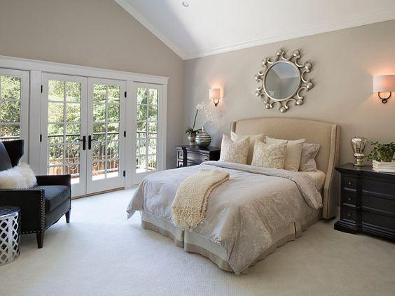 Bedroom Revere Pewter. Benjamin Moore Revere Pewter Bedroom. Benjamin Moore Revere Pewter. Revere Pewter. HC-172. #BenjaminMooreReverePewter #Bedroom Arch Studio, Inc.