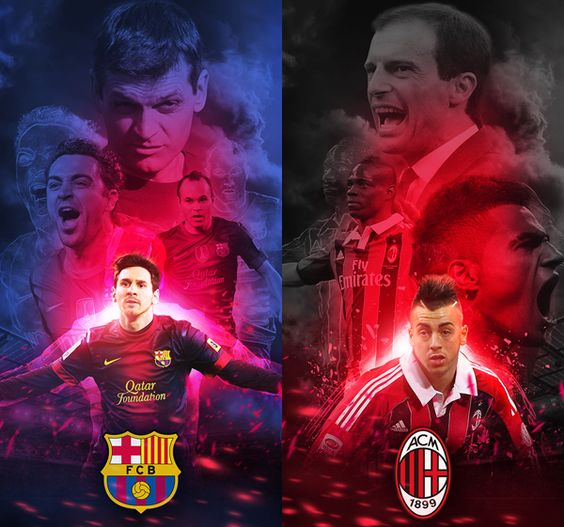 Champions League 2013 - Barcelona vs AC Milan