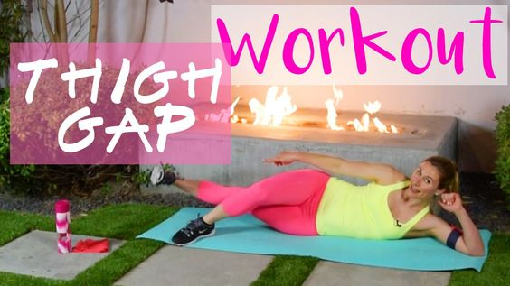 Heißes Thigh Gap Workout in 6 Min | Innenseiten der Oberschenkel straffe...