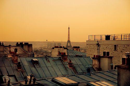 Paris. (the view is familiar...)