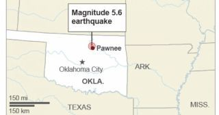 Strong Oklahoma earthquake felt from Texas to Nebraska today 9/3/16