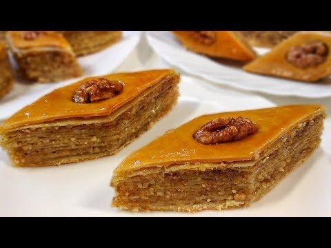 Paxlava Resepti əsil Paxlavanin Hazirlanmasi Youtube Cooking Recipes Desserts Food