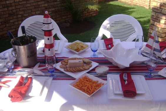 Charming Seafood Braai Table Decorations | Riaan | Pinterest | Table Decorations