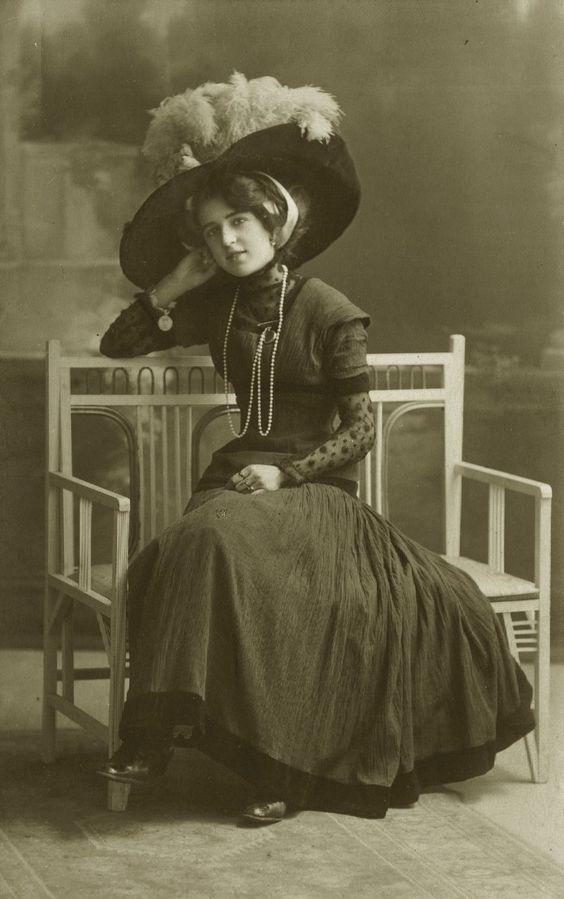 Vintage elegant edwardian lady 002 by MementoMori-stock on DeviantArt
