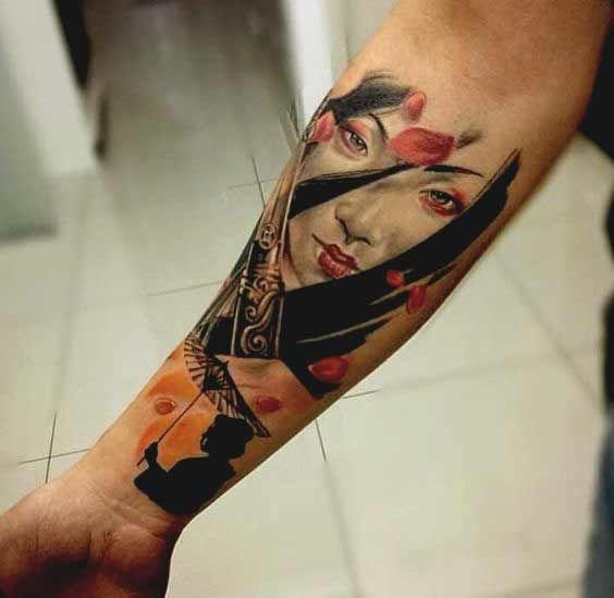 50 Amazing Geisha Tattoos Designs And Ideas For Men And Women Geisha Tattoo Tattoos Unterarm Geisha Tattoos