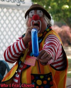 clown Ronald finally snaps . . .