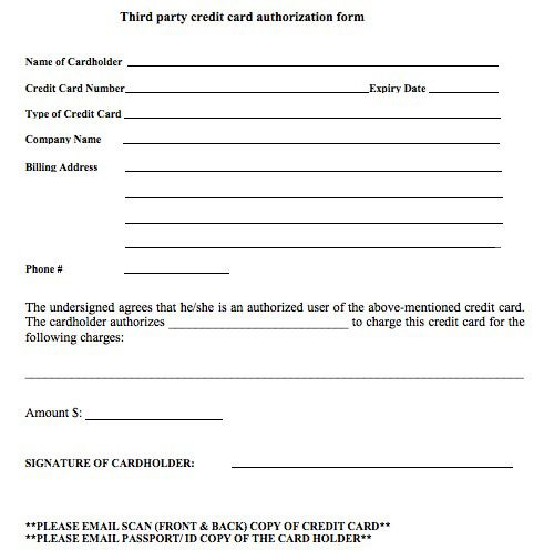3rd Party Credit Card Authorization Form 2ed288a1 Resumesample Resumefor Letter After Interview Sample Resume Resume