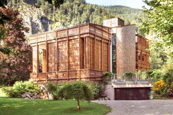 Villa sul Lago. Location: Austria; firm: architect Alexander Diem; photos: Andreas Balon