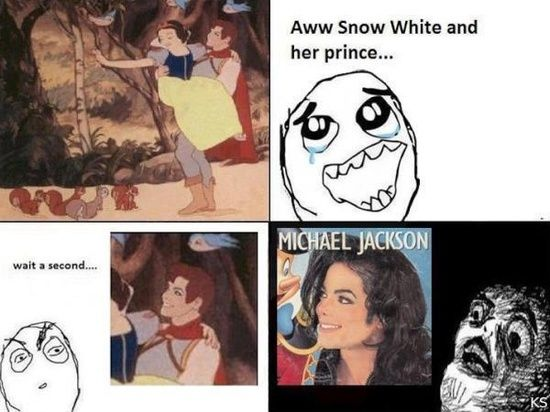 Now I can't watch Snow White without thinking of this xD