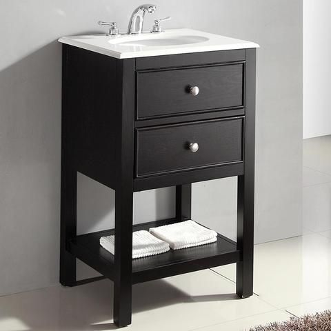 Wilmington 20 Inch Bath Vanity With Bombay White Engineered Quartz