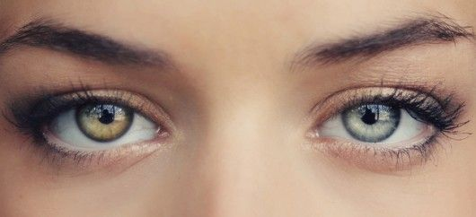 two different color eyes...so cool