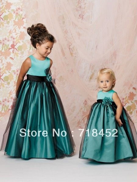 turquoise.flower.girl.dress - Google Search