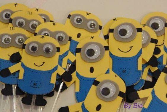festa infantil minions moldes - Pesquisa Google