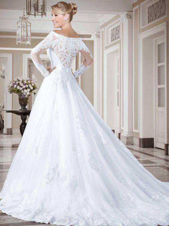 Vestidos de noiva - Coleção Callas (17) Costas