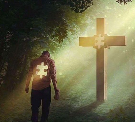 Jesus is the missing piece in your life.: