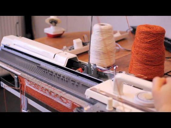 Open Source Knitting Pattern Generator : Knitic - open source knitting machine (Demo) Pinterest Arduino, Mars and ...