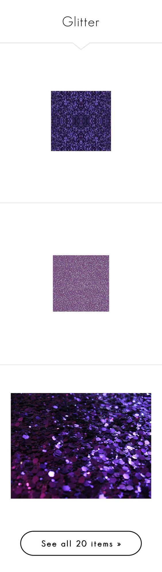 """""""Glitter"""" by nutz4lutz ❤ liked on Polyvore featuring backgrounds, glitter, purple, - backgrounds, pictures, wallpaper, glitter backgrounds, pics, fillers and patterns"""