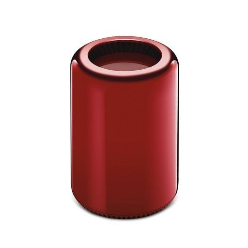 Mac Pro, 2013 Selected and customised by Jony Ive and Marc Newson for the (RED) Auction 2013. Produced by Apple Inc. Engineered extruded aluminium 9 in (22.86 cm) - height, 6 5/8 inches (16.8 cm) - diameter Unique Courtesy of Apple Inc. Estimate $40,000 - $60,000