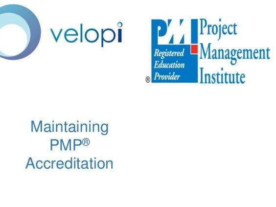 Maintaining PMP Accreditation - All PMP® accredited people need to participate in the Continuing Certification Requirements (CCR) program to keep their active certification status.