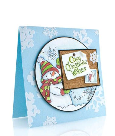 Stampendous » Snowbuddy Bulletin Board by Wendy Price