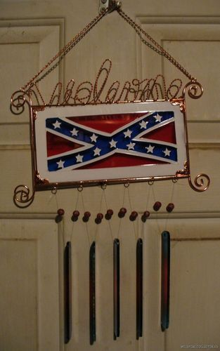 Rebel Confederate Flag Stained Glass Welcome Sign Wind Home Decorators Catalog Best Ideas of Home Decor and Design [homedecoratorscatalog.us]