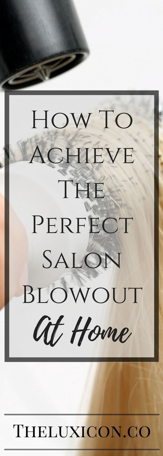 Professional Hair Blowout At Home: with just a few tips!