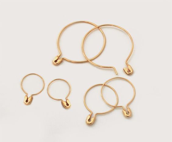 Safety Pin Earrings – Sehti Na