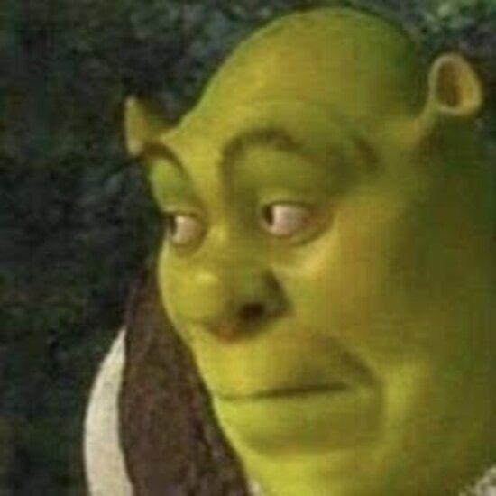 Shrek Oops Face Sticker In 2020 Meme Faces Aesthetic Memes Shrek