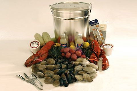 Stove-Top Clambake by lobsterplace.com