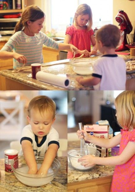 3 Kids, a Mom and a Kitchen - Homemade Amish Pretzels - Babble >> LOVE this!