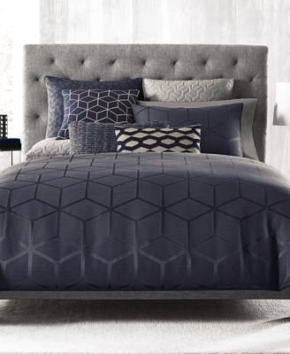 Hotel Collection Cubist Full/Queen Duvet Cover, Only at Macy's