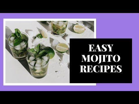 Easy Mojito Recipes Tiktok Compilation Youtube Mojito Recipe Easy Mojito Recipe Fun Drinks