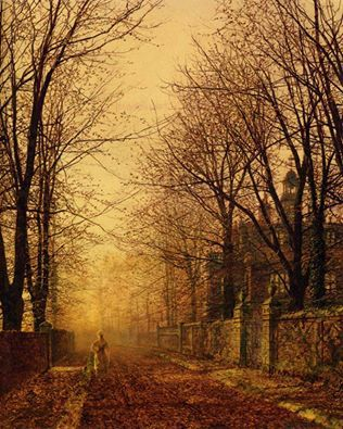 Atkinson Grimshaw,  The Golden Beam