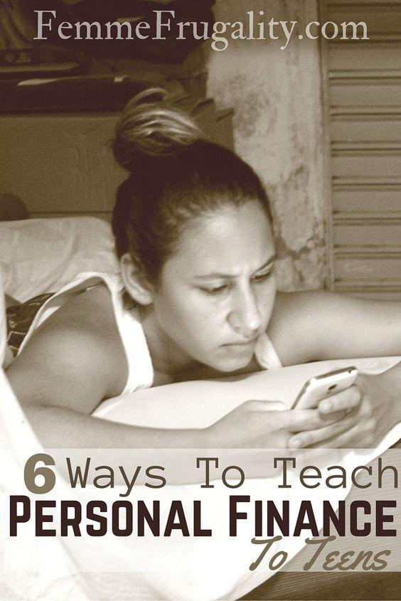 Teach teens about finances