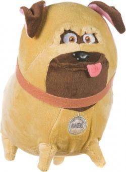THE SECRET LIFE OF PETS Plüsch Figur Mops MEL braun | 22 cm  #thesecretlifeofpets #pets #petsmovie #mel