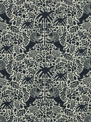 navy blue animal fabric upholstery fabric by the yard modern navy fabric 79
