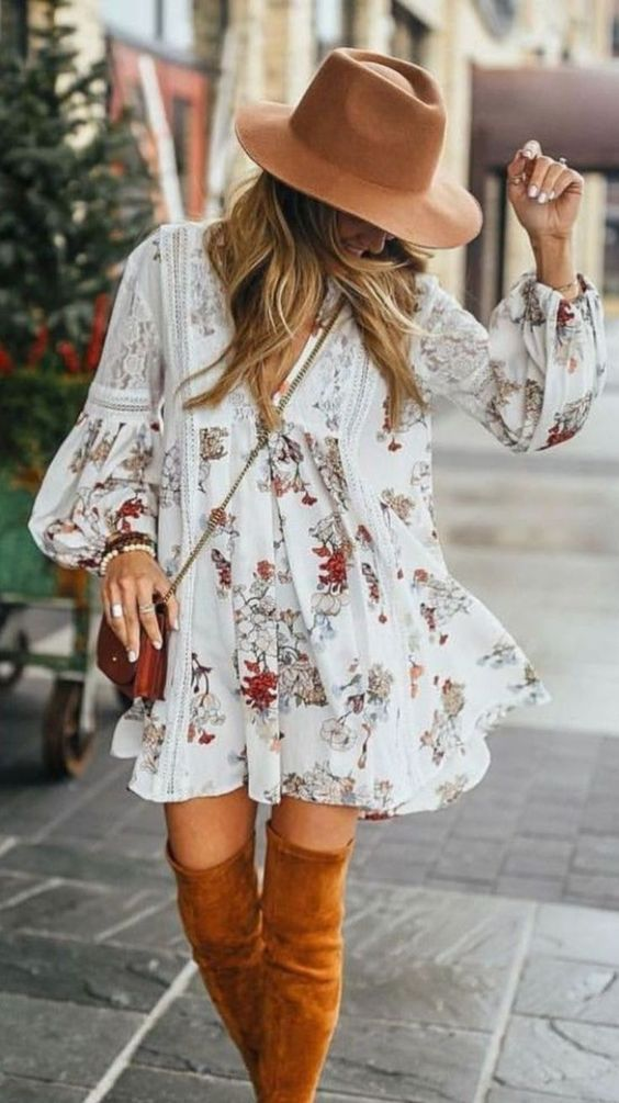 Surprisingly Cute Boho Chic Outfit