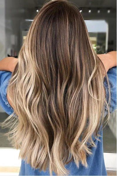 Beachy Highlights That Make Every Hair Color Look Perfectly Sunkissed Ombre Hair Blonde Surf Hair Hair Highlights