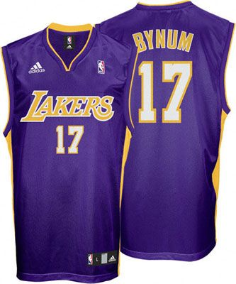 581903224 los angeles lakers andrew bynum 17 purple authentic jersey sale . ...