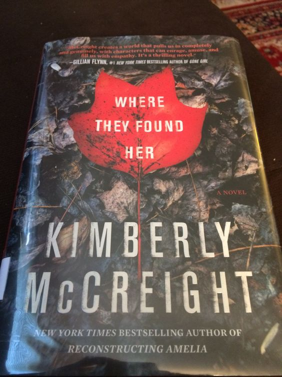 Fantastic second novel from Kimberly McCreight.  I couldn't put this book down and finished it in 2 days!