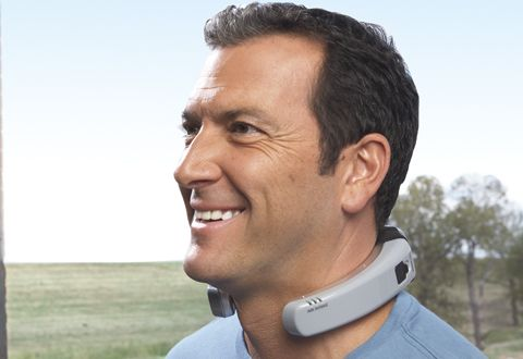 CoolWare Personal Cooling System: The Air Conditioner You Can Wear Around Your Neck  ... see more at InventorSpot.com