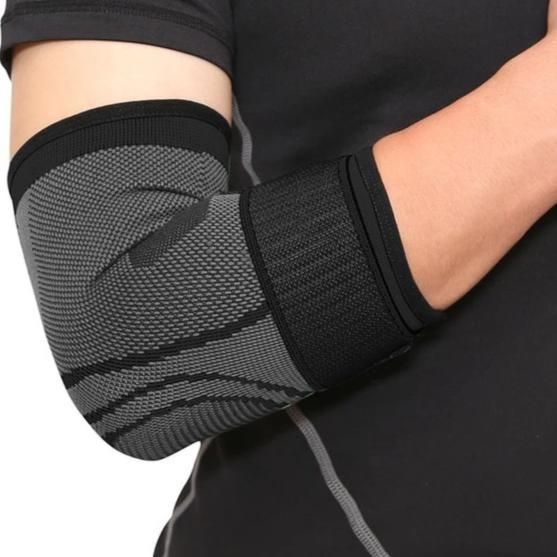 Elastic Bandage Gym Sport Compression Adjustable Elbow Protective Pad Absorb Sweat Basketball Tennis Arm Sleeve In 2020 Basketball Knee Pads Sports Knee Brace Arm Sleeve