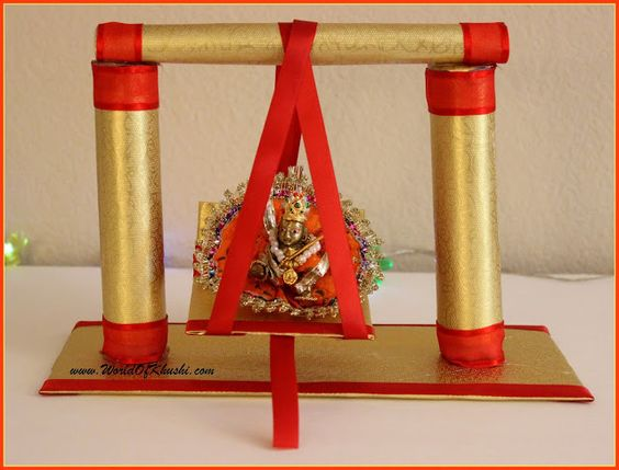 Best Thakurji Jhula Swing Decoration Pictures Pictures for free download