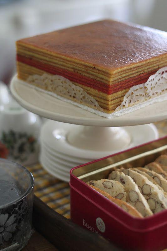 Jane's Corner: 榴莲千层蛋糕(Kek Lapis Durian)
