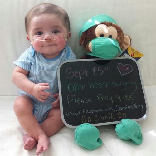 Open Heart Surgery Baby